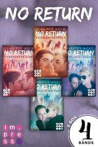 Cover No Return: Alle vier Bände der Bandboys-Romance-Reihe in einer E-Box!