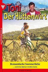 Cover Toni der Hüttenwirt 215 – Heimatroman