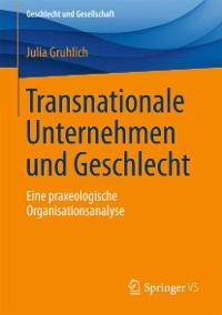 Cover Transnationale Unternehmen und Geschlecht