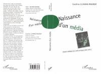 Cover NAISSANCE D'UN MEDIA