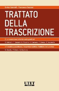 Cover Trattato della Trascrizione Vol. II e III