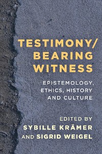 Cover Testimony/Bearing Witness