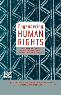 Cover Engendering Human Rights
