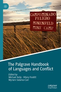 Cover The Palgrave Handbook of Languages and Conflict