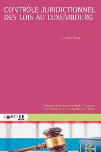 Cover Contrôle juridictionnel des lois au Luxembourg