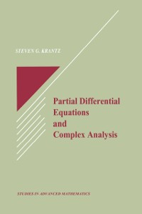 Cover Partial Differential Equations and Complex Analysis