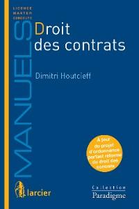 Cover Droit des contrats