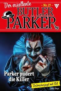 Cover Der exzellente Butler Parker 27 – Kriminalroman