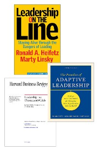 Cover Adaptive Leadership: The Heifetz Collection (3 Items)