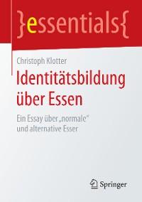 Cover Identitätsbildung über Essen