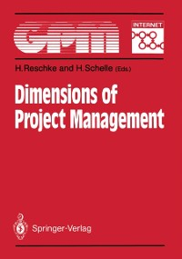 Cover Dimensions of Project Management