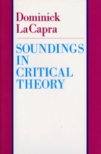 Cover Soundings in Critical Theory