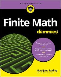 Cover Finite Math For Dummies