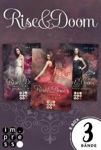 Cover Rise & Doom: Alle Bände der Trilogie in einer E-Box!