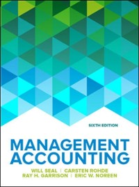 Cover EBOOK: Management Accounting, 6e