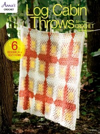 Cover Log Cabin Throws to Crochet