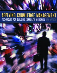 Cover Applying Knowledge Management