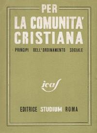 Cover Il codice di Camaldoli (1943)