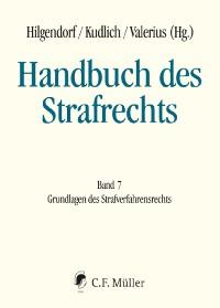 Cover Handbuch des Strafrechts