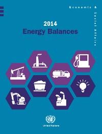 Cover 2014 Energy Balances
