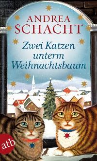 Cover Zwei Katzen unterm Weihnachtsbaum