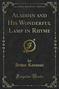 Cover Aladdin and His Wonderful Lamp in Rhyme