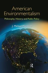 Cover American Environmentalism