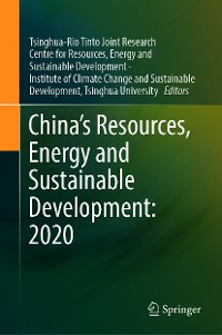 Cover China's Resources, Energy and Sustainable Development: 2020