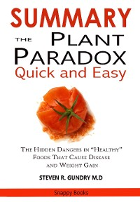 Cover SUMMARY Of The Plant Paradox Quick and Easy