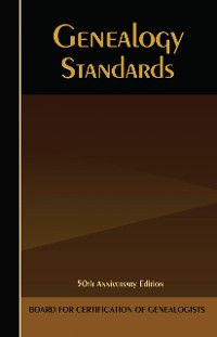 Cover Genealogy Standards