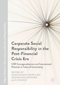 Cover Corporate Social Responsibility in the Post-Financial Crisis Era