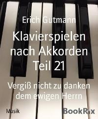 Cover Klavierspielen nach Akkorden Teil 21