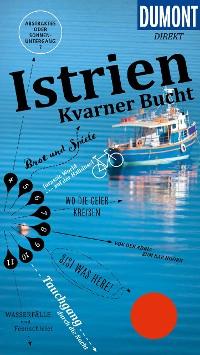 Cover DuMont direkt Reiseführer Istrien, Kvarner Bucht