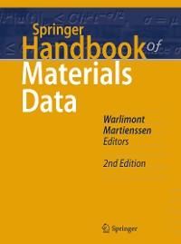Cover Springer Handbook of Materials Data