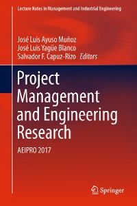 Cover Project Management and Engineering Research