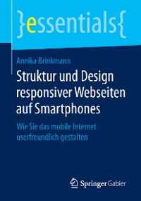 Cover Struktur und Design responsiver Webseiten auf Smartphones