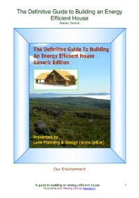 Cover Definitive Guide to Building an Energy Efficient House