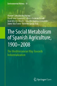 Cover The Social Metabolism of Spanish Agriculture, 1900–2008