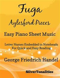 Cover Fuga Aylesford Pieces Easy Piano Sheet Music