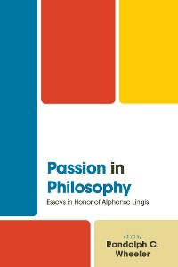 Cover Passion in Philosophy