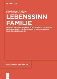 Cover Lebenssinn Familie
