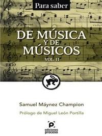Cover De música y de músicos Vol. II