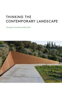 Cover Thinking the Contemporary Landscape