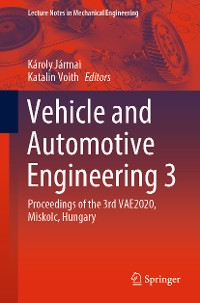 Cover Vehicle and Automotive Engineering 3
