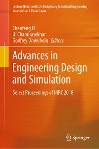 Cover Advances in Engineering Design and Simulation