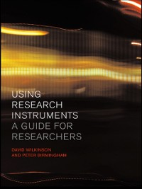 Cover Using Research Instruments