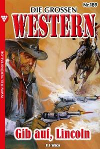 Cover Die großen Western 189