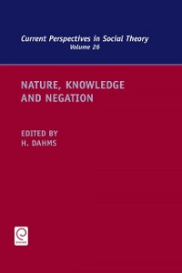 Cover Nature, Knowledge and Negation