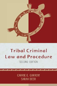 Cover Tribal Criminal Law and Procedure