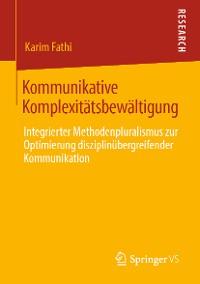 Cover Kommunikative Komplexitätsbewältigung